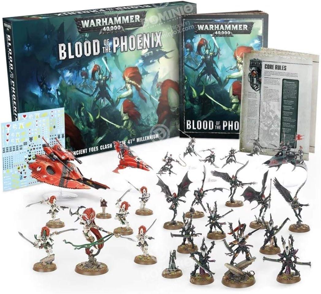 Games Workshop Blood of The Phoenix - English: Amazon.es: Juguetes y juegos