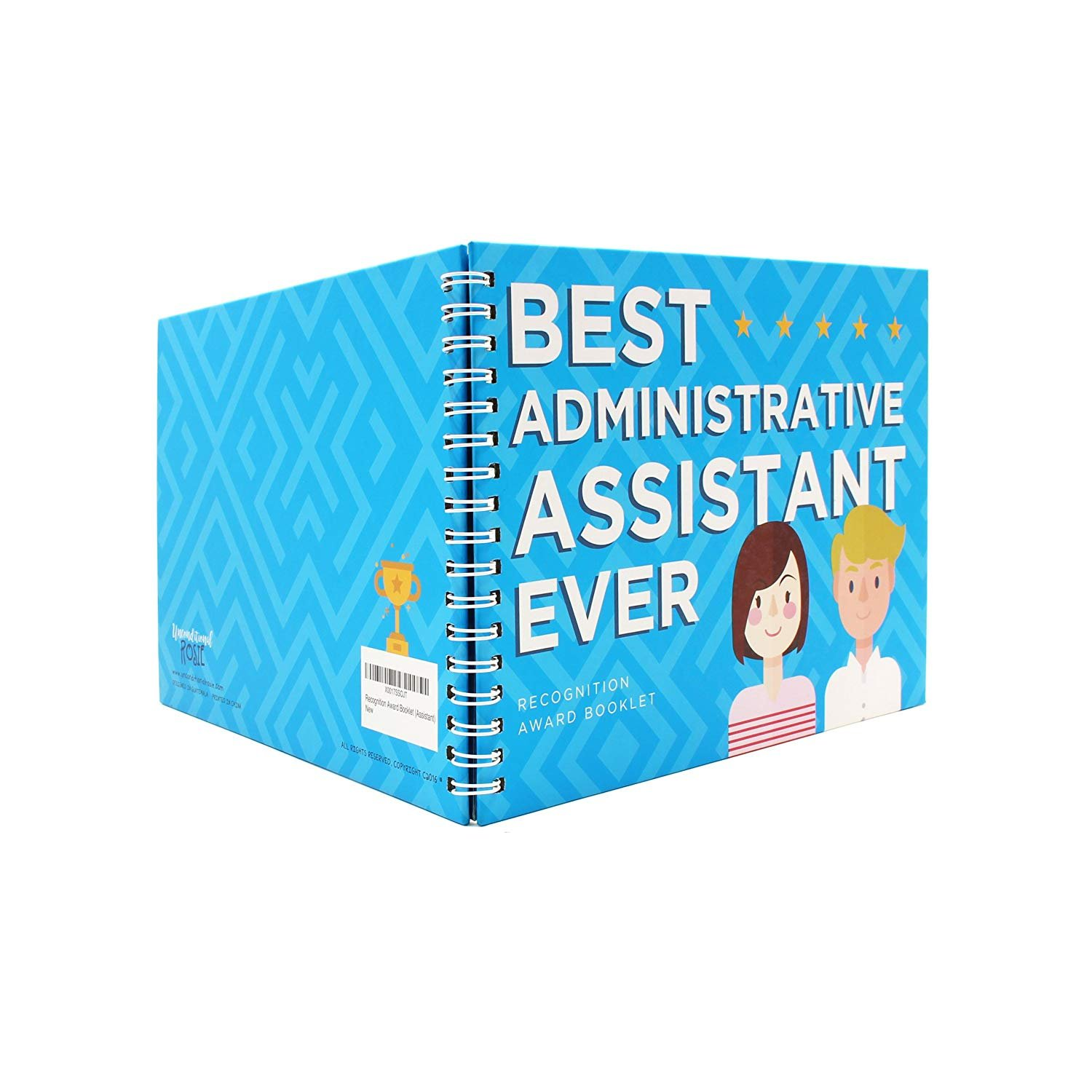 Amazon.com: Best Administrative Assistant Ever Edition - This 24 ...