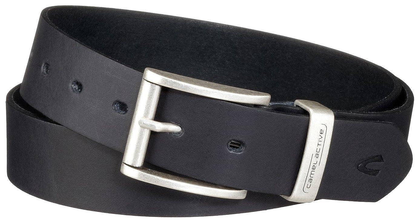 Camel Active Men\'s Leather Belt: Amazon.co.uk: Clothing