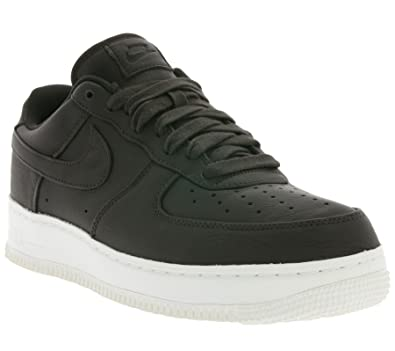 NIKE Mens Lab Air Force 1 Low Velvet Brown Leather