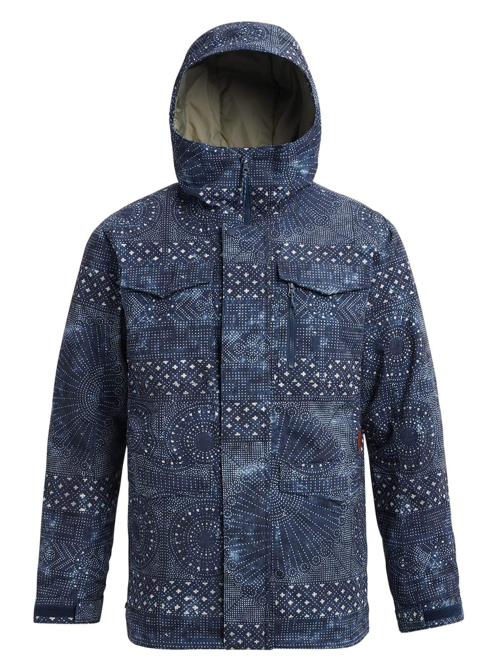 Burton(バートン) スノーボード ウェア メンズ ジャケット COVERT JACKET 2018-19年モデル S~Lサイズ B07B6SW29L Sサイズ|INDIGO RESIST INDIGO RESIST Sサイズ