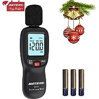Medidor de Sonido, Meterk 30-130dB (A) LCD Digital