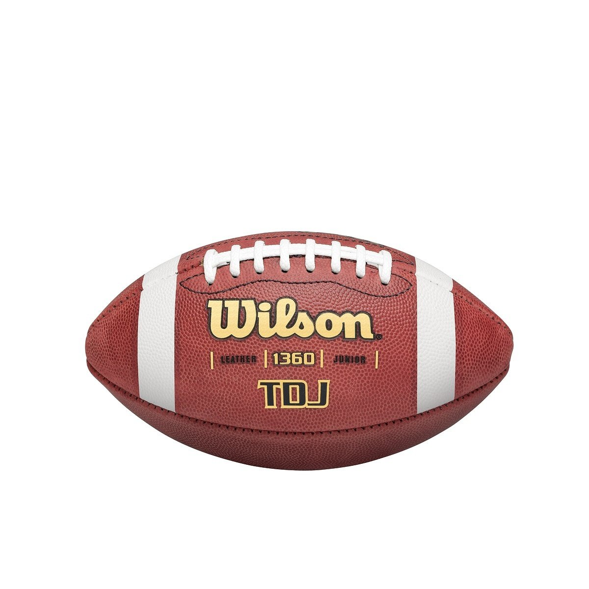 Wilson TDJ Leather Game Youth Football