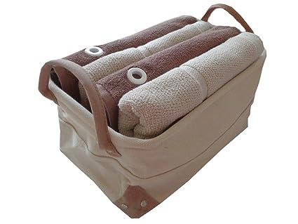 Juego de toallas de mano (5 piezas) 2 x Toalla de mano (55 x 100 Faston ...