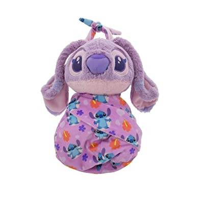 Disney Parks Baby Angel in a Pouch Blanket Plush Doll Stitch: Toys & Games