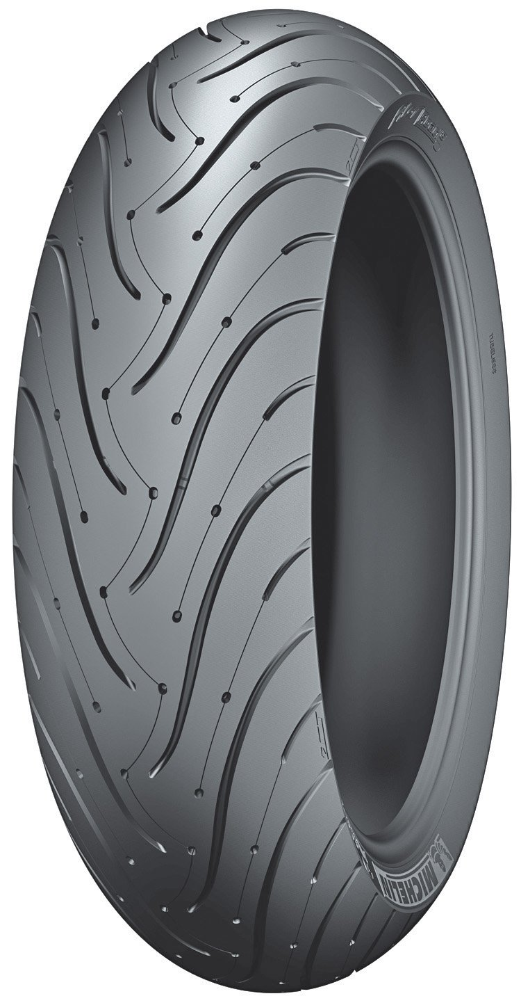 Michelin Pilot Road 3 Motorcycle Tire Sport/Touring Rear 180/55-17
