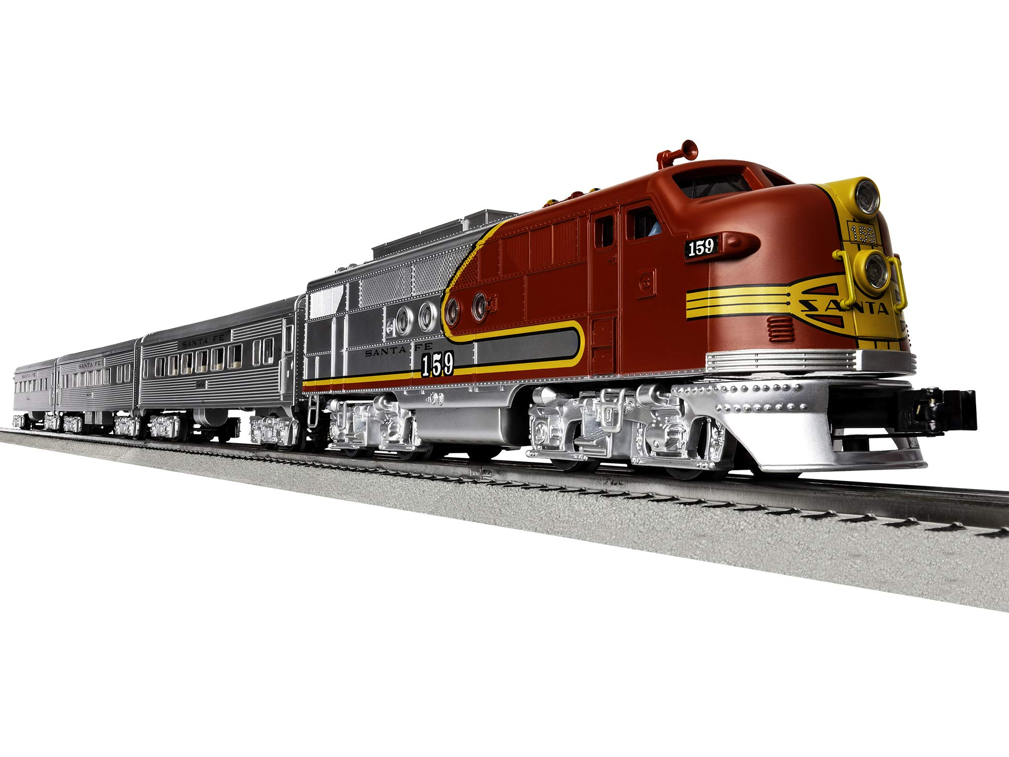 Lionel Santa Fe Super Chief Electric O Gauge Model Train Set w/ Remote and Bluetooth Capability by Lionel (Image #1)