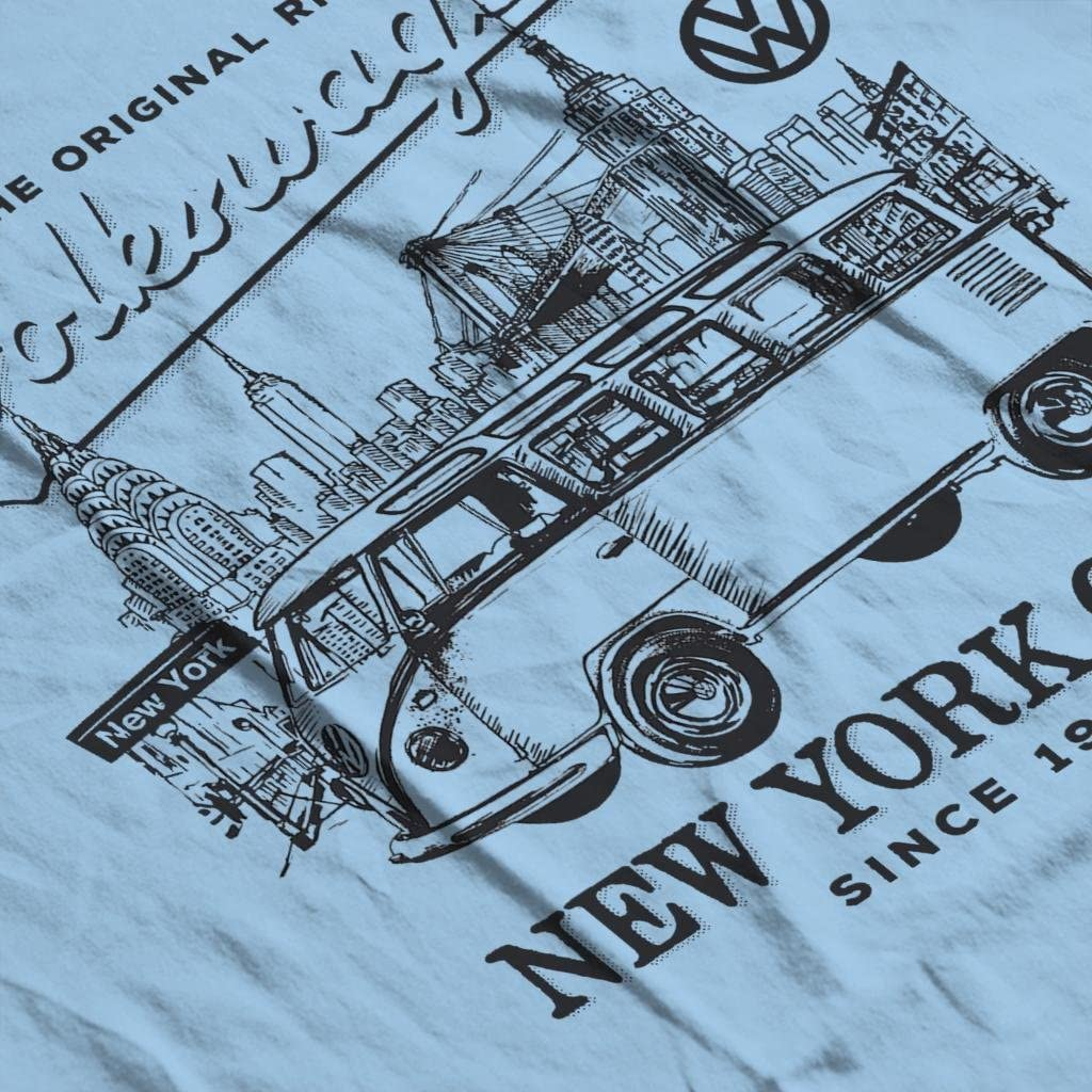Volkswagen Camper New York City Mens T-Shirt
