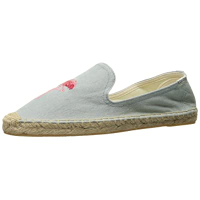 Flamingo Smoking Slipper Chambray | Slippers