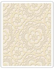 Sizzix Texture Fades Embossing Folder, Lace