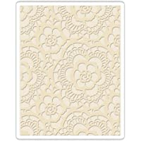 Sizzix Folder Texture Fades Embossing, Lace (661824)