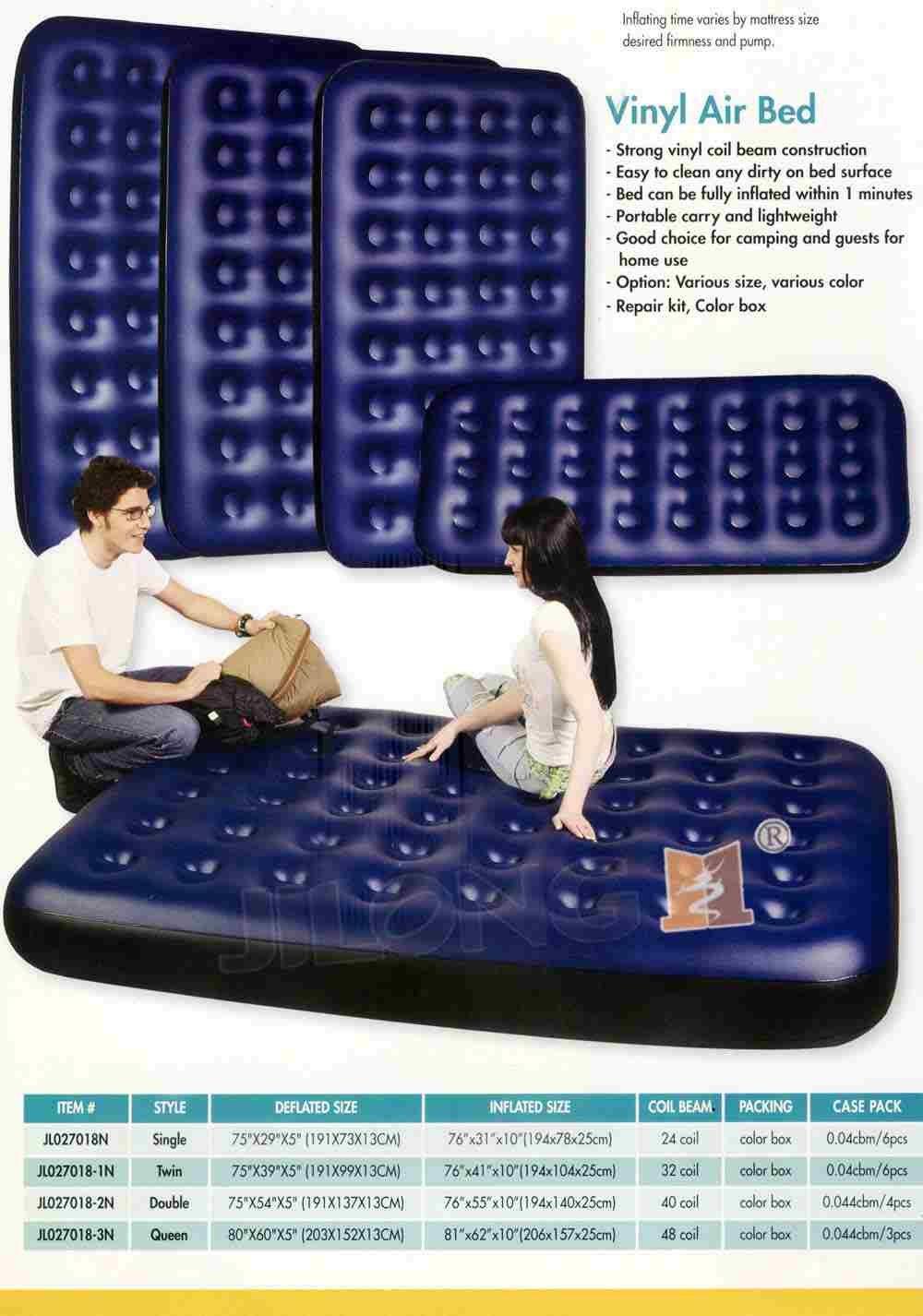 Amazon.com: Single/cama hinchable doble colchón inflable ...