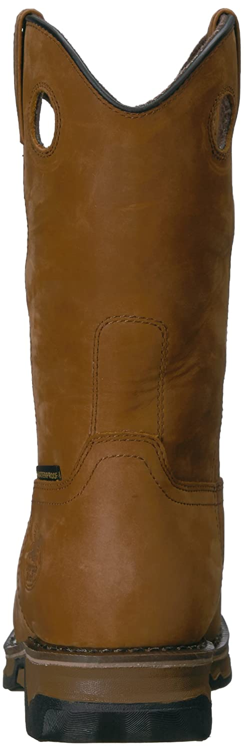 Georgia GB00102 Mid Calf Boot B01F7OQA0W 8.5 W US|Dark Brown