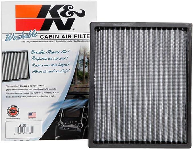 K N Premium Kabinenluftfilter Hochleistung Waschbar Sauberer Luftstrom In Ihre Kabine Passend Für 2012 2020 Hyundai Kia Tucson Sportage Ioniq Niro Niro Ev Vf2072 Auto