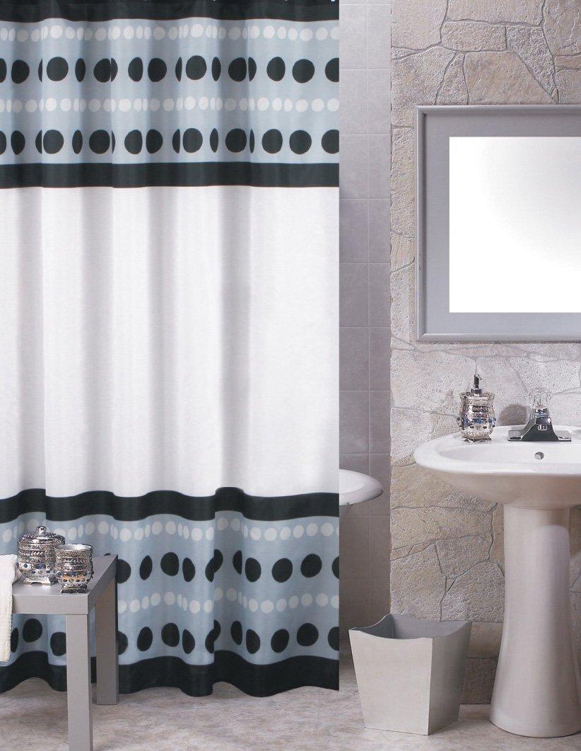 Amazon.com: Dot Jam Highway Fabric Shower Curtain Size: 70\