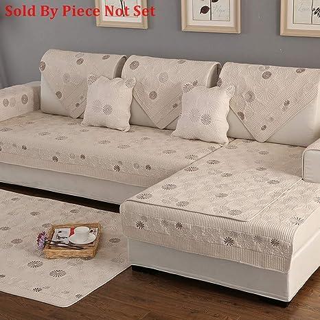 Funda de algodón para sofá de Corte, para Toda la Temporada ...