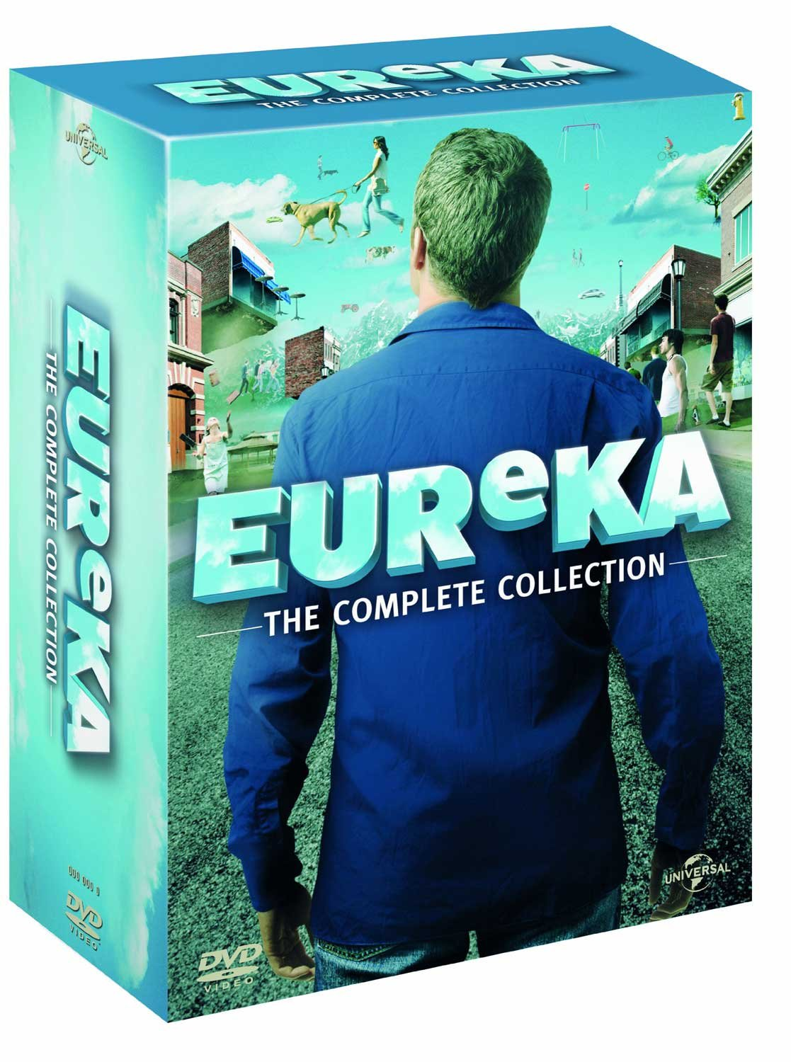 A Town Called Eureka - Complete Collection (Seasons 1-5) - 23-DVD Box Set ( Eureka ) ( Eureka - Complete Seasons One to Five ) [ NON-USA FORMAT, PAL, Reg.2.4 Import - United Kingdom ] by Universal