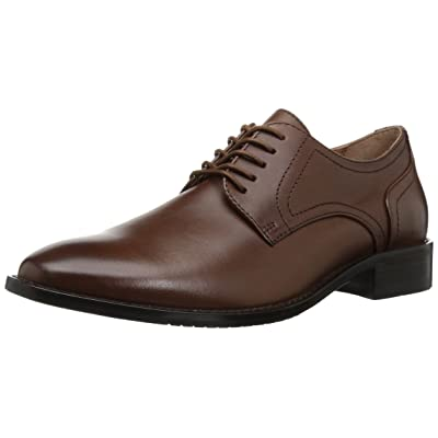 Brand - 206 Collective Men's Concord Leather Plain-Toe Oxford: Shoes