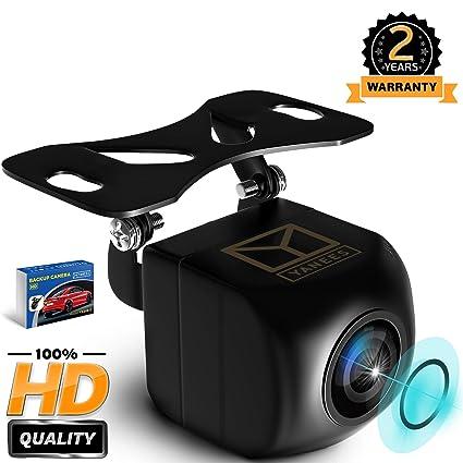 Cámara de Seguridad para Coche, HD 1080p, cámara de visión Trasera, Impermeable,