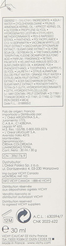 Vichy Lumineuse - Dry Skin 03 30ml Tubo Líquido base de maquillaje ...