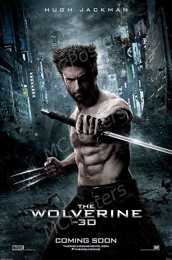 """MCPosters The Wolverine X-Men GLOSSY FINISH Movie Poster - MCP277 (24"""" x 36"""" (61cm x 91.5cm))"""