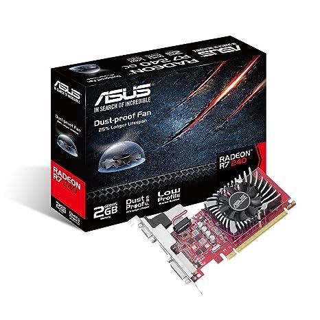 ASUS Radeon R7 240 Radeon R7 240 2GB GDDR5 - Tarjeta gráfica ...