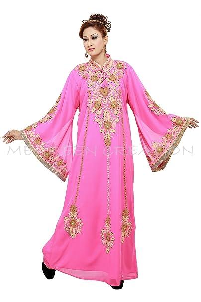 2018 New Modern Dubai Kaftan Dress Large Size Only at Amazon Women s ... 44b85804ec1