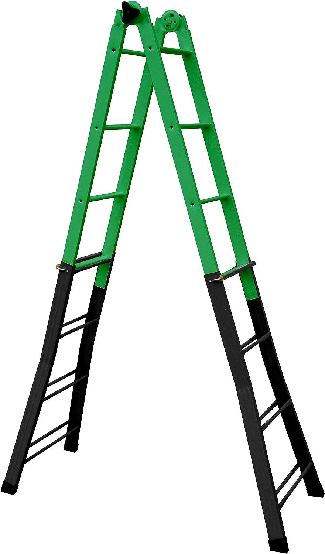 Coamer B-44 - Escalera multiposiciones, Acero: Amazon.es ...