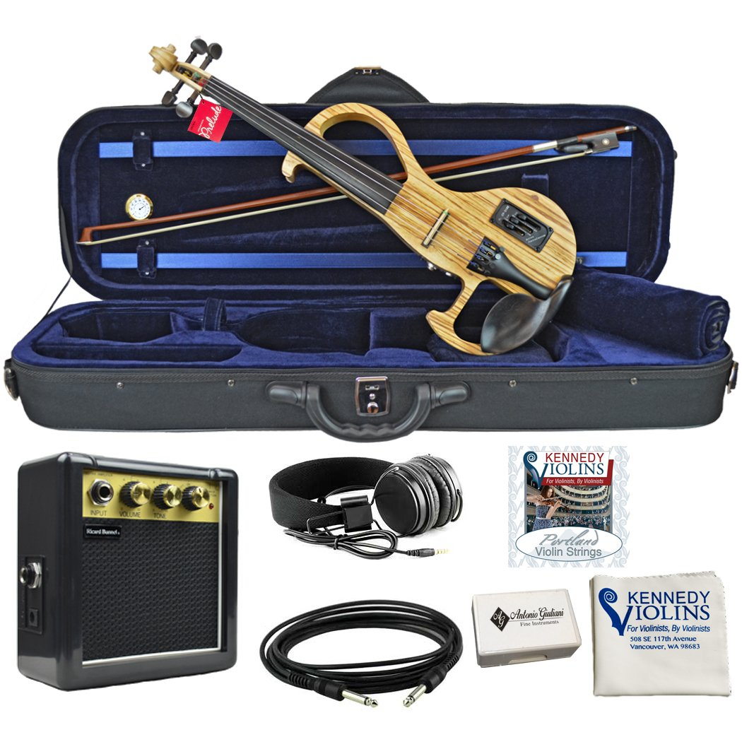 Bunnel EDGE Woodtone Electric Violin Outfit Amp Included (Sunrise) Kennedy Violins