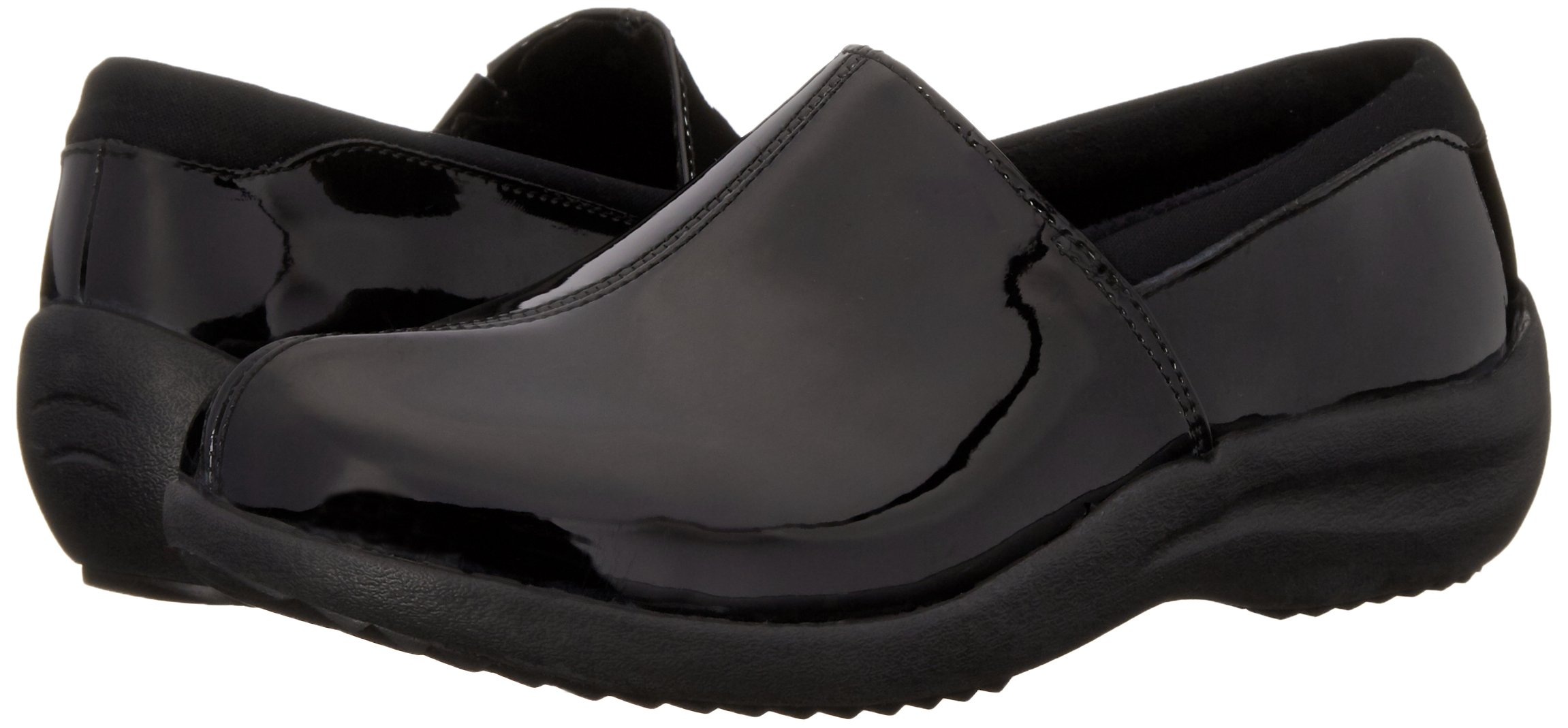 Skechers Women's Savor singular Mule, Black Patent Leather, 6 M US by Skechers (Image #6)