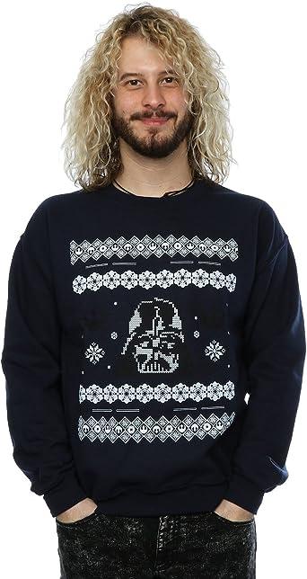 Star Wars Hombre Christmas Darth Vader Fair Isle Camisa de Entrenamiento XX-Large Armada: Amazon.es: Ropa y accesorios