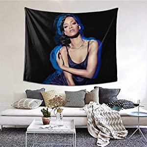 NOT Robyn Rihanna Wall Tapestry for Home Decor Bedroom Living Room, 6051 Inches Tapestry