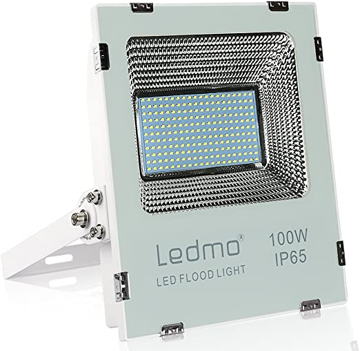 LEDMO Foco Led 100W 9900LM Focos Led Exterior SMD2835 IP65 ...