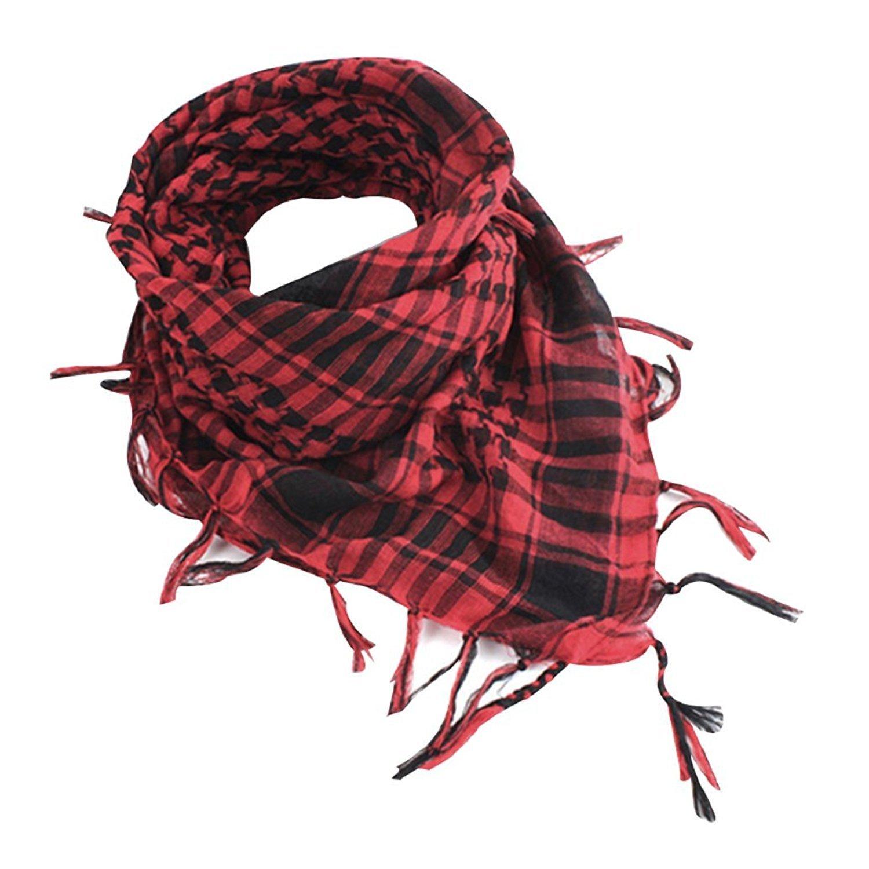 Bodhi2000® Unisex Military Shemagh Cotton Desert KeffIyeh Head Neck Scarf Wrap E170357HXJ0W5421