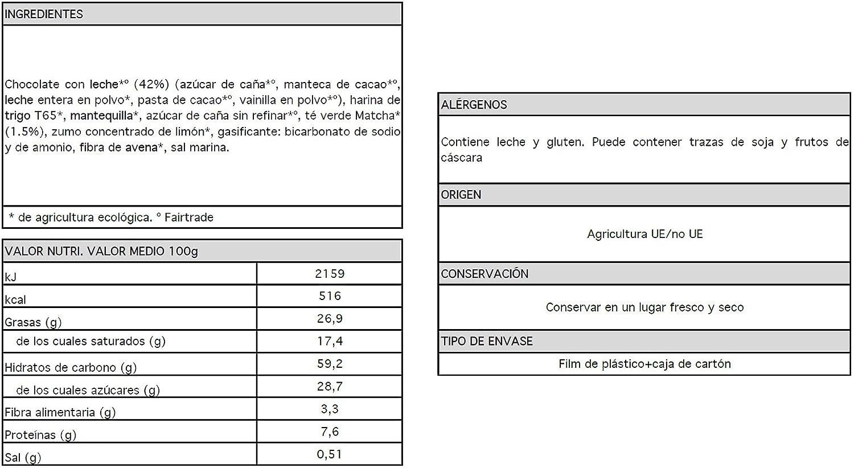 Le Moulin Du Pivert Galletas Tentación Té Verde Matcha - Paquete de 12 x 130 gr - Total: 1560 gr: Amazon.es: Alimentación y bebidas