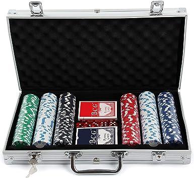 MultiWare 300 Pcs Jetons De Poker Jeu De Casino Malette En ...