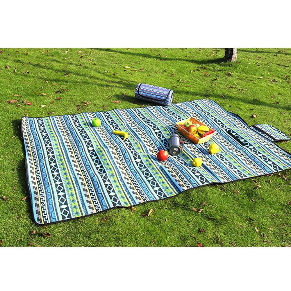 GGATT Picknickdecke 145  200 cm cm cm Outdoor Camping Picknick Decke Wasserdichte Picknickdecke und Stranddecke mit für Park BBQ,Strand Reisen Camping und Picknick B07PPQN8FH | Haben Wir Lob Von Kunden Gewonnen  2ea44a