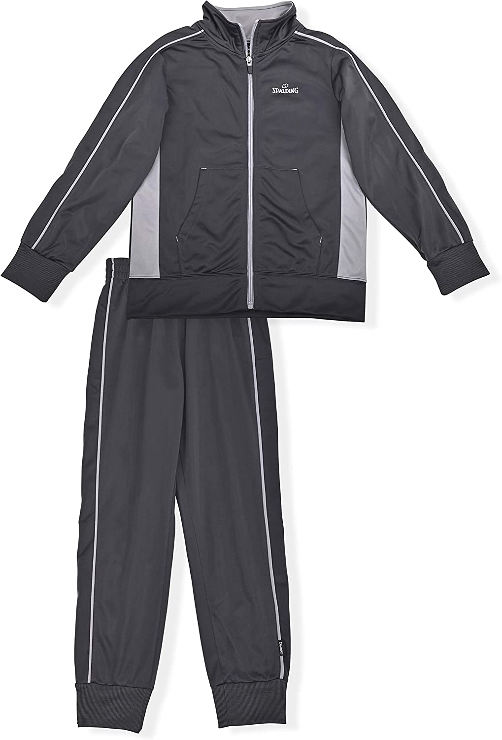 Spalding Boys' Tricot Two Piece Sweatsuit: Clothing