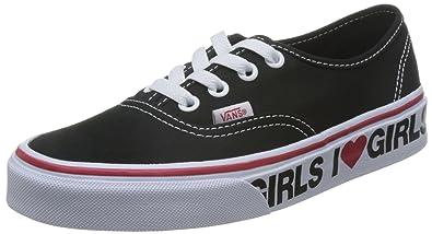 vans girls authentic