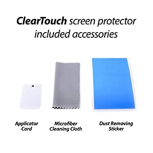 Garmin Zumo 595LM Screen Protector, BoxWave [ClearTouch Anti-Glare (2-Pack)] Anti-Fingerprint Matte Film Skin for Garmin Zumo 595LM, 590LM