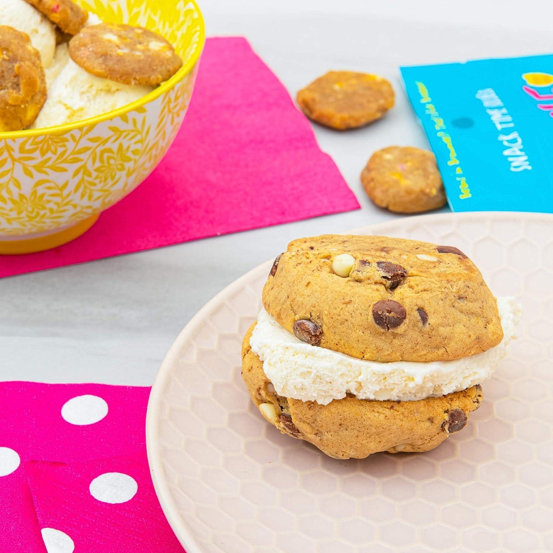 Birthday Cake Bundle: Rule Breaker Snacks Blondies and Bites, Vegan, Gluten Free, Nut Free, Kosher, Allergy Friendly
