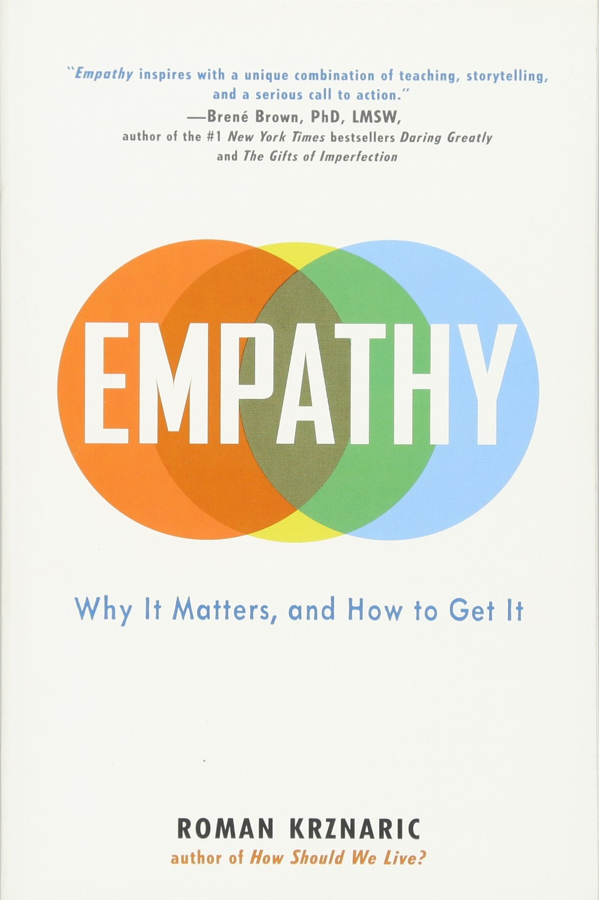 Empathy: Why It Matters, And How To Get It: Roman Krznaric: 9780399171406:  Amazon: Books