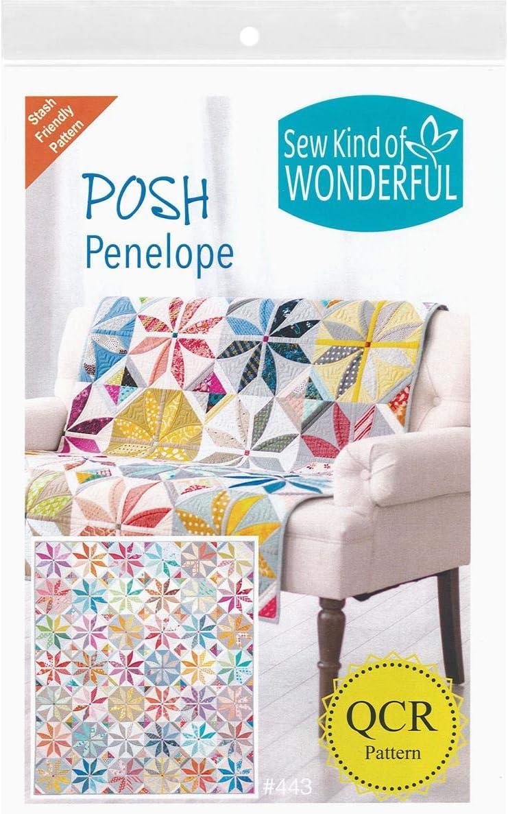 Sew Kind Of Wonderful 443 QCR Posh Penelope Ptrn