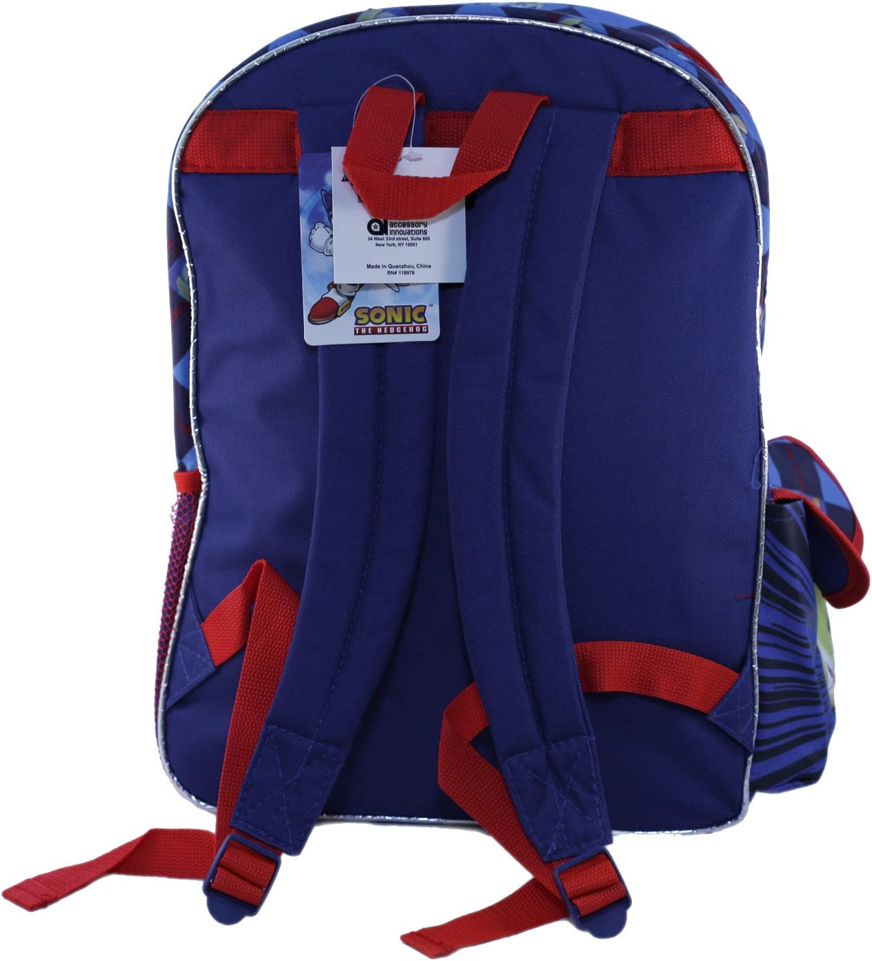bc26d939eb8f Amazon.com  Accessory Innovations Sonic and Friends Backpack Bag - Not  Machine Specific  Video Games