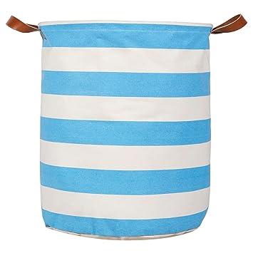 Delicieux Kids Laundry Basket/Nursery Hamper, Large Storage Basket, Heavy Duty Canvas  Storage Bin