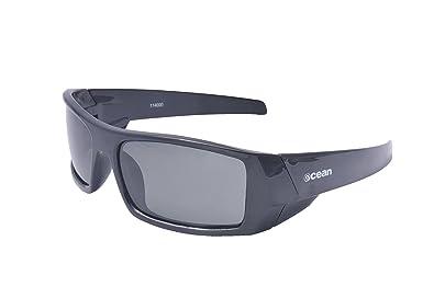Ocean Sunglasses Hawaii - Gafas de Sol polarizadas - Montura : Negro Brillante - Lentes :