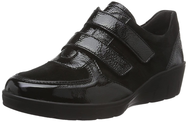 Semler Damen Schwarz Judith Velcro Sneakerss Schwarz Damen (001 Schwarz) eb64d1