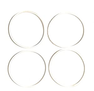 Fab International Replacement Gasket Compatible with Bella Rocket Sports Blender 4 Pack Diameter 2.5 Inches (After Market Part)