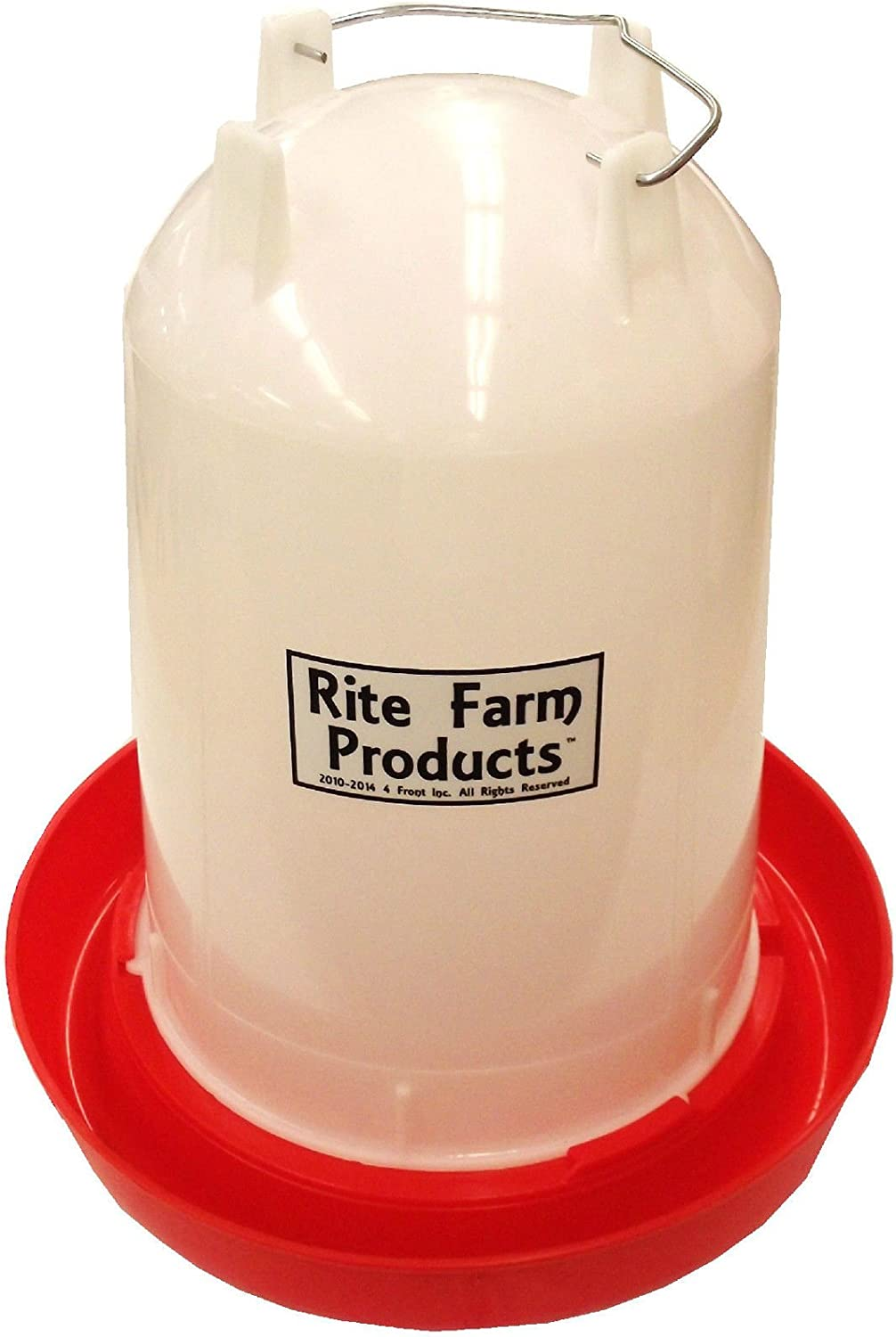 COMBO*X-LARGE RITE FARM PRODUCTS 3.7 GAL /& 20 LB WATERER /&FEEDER CHICKEN POULTRY