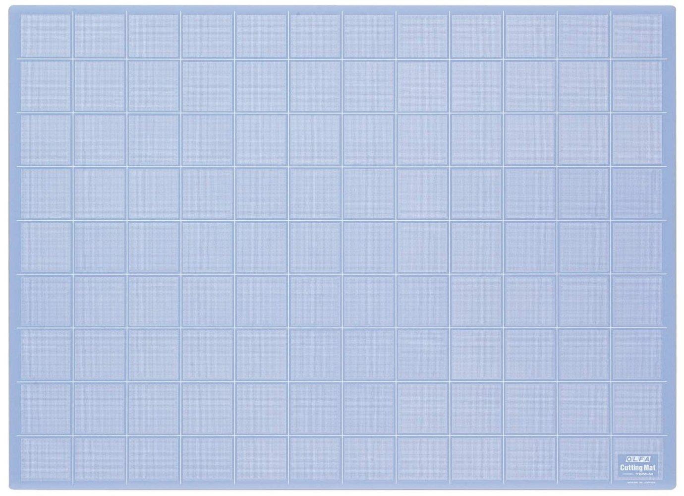 Olfa TCM - Planchas de corte de 3 mm de espesor, color translucido (62 x 45 cm)